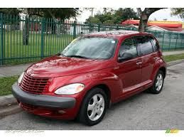 2002 chrysler pt cruiser touring in inferno red pearlcoat 297179