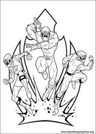 power rangers coloring pages 001 power ranger party