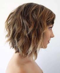 Frisuren Mittellange Haar Wellig by Die Letzte Kurze Wellige Frisuren Sollten Sie Versuchen Im Jahr
