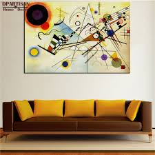aliexpress com buy dpartisan wassily kandinsky composition no8
