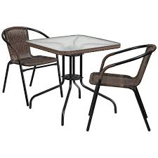 Sunvilla Bistro Chair Sling Patio Dining Sets You U0027ll Love Wayfair