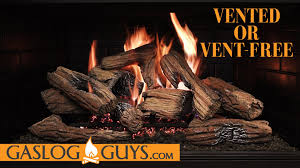how to choose the right gas logs vented or vent free