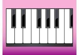 piano keyboard free vector art 3092 free downloads