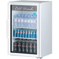 coca cola fridge glass door turbo air tgm 7sd white countertop display refrigerator with swing