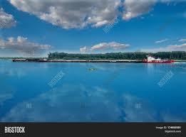river transport cargo ship image u0026 photo bigstock