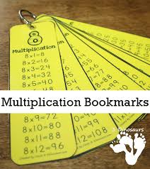 free multiplication bookmarks free homeschool deals