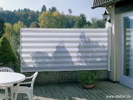 seitenmarkise balkon ausziehbare seitenmarkise für balkon und terrasse planungswelten