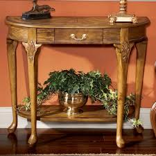 Antique Console Table Butler Vintage Oak Console Table Reviews Wayfair
