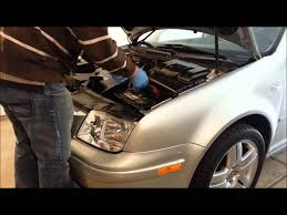 How To Remove Replace Battery On A Mk4 Vw Jetta Golf Gti Battery