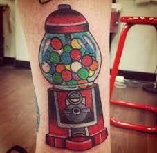 Machine Tattoo Ideas Gumball Machine Tattoo By Lisa Murphy Www Againstthegra