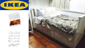 ikea hemnes daybed assembly youtube