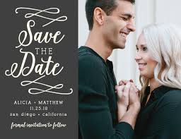 save the dates save the date cards match your colors style free basic invite