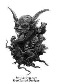 free demon tattoo design photos pictures and sketches tattoo