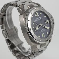 titanium bracelet watches images Panerai submersible pam00170 g stainless steel titanium anthracite jpg