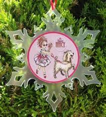 happiness is homegrown fancy nancy ornament