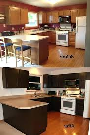 Wooden Ca by Paint Wooden Kitchen Cabinets Oak Black Ideas Brown Painted Kind