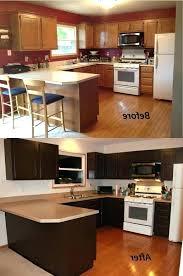paint wooden kitchen cabinets oak black ideas brown painted kind