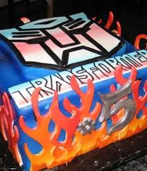 transformer cake top transformers cakes cakecentral