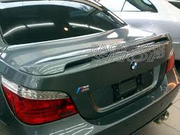 m tech type trunk spoiler fit for bmw e60 5 series 5 series e39