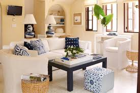 White Sofa Living Room Ideas White Sofa With Navy Coffee Table Cottage Living Room