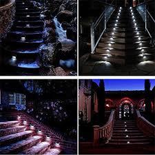 solar stair lights indoor 4pcs lots solar light outdoor indoor waterproof stair lights mini