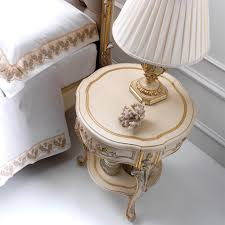 Small Round Accent Table by Gorgeous Round Bedside Tables With Italian Side Table Lamp Style