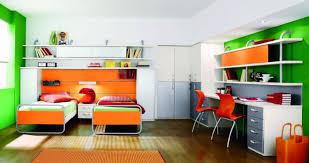 Orange And White Bedroom Bedroom Modern Teenage Boys Bedroom Idea With Orange And White