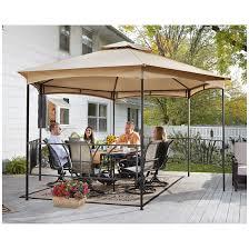 Patio Gazebos On Sale by Castlecreek 13 U0027 X 13 U0027 Double Roof Hexagon Patio Gazebo 581482