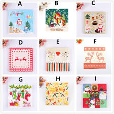 aliexpress com buy free shipping 20pcs pack 33x33cm christmas