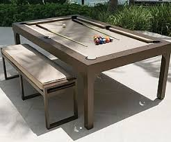 dining table converts to pool table convertible billiards dining table