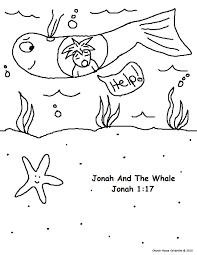 jonah and the whale sunday lesson
