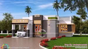 Single Floor Home Front Design In Kerala