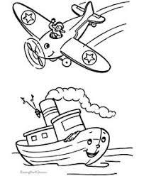 printable aeroplane coloring kids arts u0026 crafts