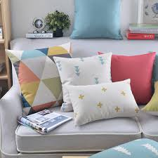aliexpress com buy nordic style geometric throw pillow covers