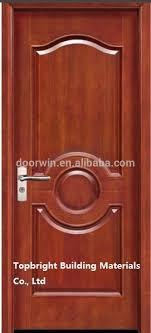 Flush Exterior Door Waterproof Teak Wood Flush Entry Door Models For Home View