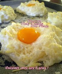 cuisiner oeuf nids d oeufs cuisiner avec ses 5 sens