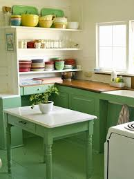 Best Green Kitchens Images On Pinterest Green Kitchen - Green kitchen table