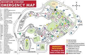 g map emergency response map moorpark college