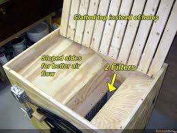 Build A Down Draft Table With Pictures - Downdraft table design