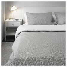 Mattress Toppers Ikea Ireland Dublin Vinter 2017 Quilt Cover And 2 Pillowcases Grey White 200x200 50x80