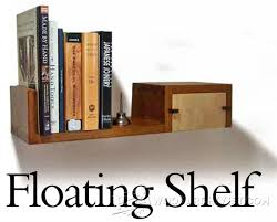 Hanging Wall Shelves Woodworking Plan by Floating Shelf Plans U2022 Woodarchivist