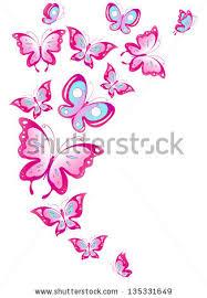 butterflies design stock vector 135331649