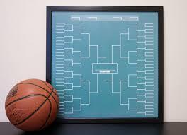 sports bracket large dry erase board framed tournament