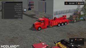 truck hub kenworth trucks kenworth tow truck mod farming simulator 17