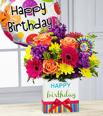flowers and balloons happy birthday flowers and balloons pictures ftd birthday brights