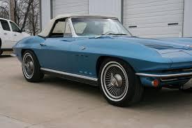 1966 corvette trophy blue 1966 corvette roadster numbers matching l79 327 350hp 4 speed 76k