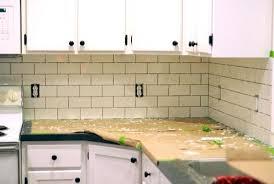 Installing Subway Tile Backsplash In Kitchen Breathtaking Kitchen Subway Tile Backsplash Photo Of 6
