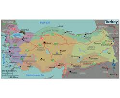 Map Of Turkey And Syria by Maps Of Turkey Detailed Map Of Turkey In English Tourist Map