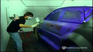 how to do a custom paint job on your car bike etc part 2