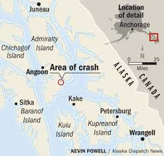 Wrangell Alaska Map by Three Dead In Plane Crash Near Juneau Alaska Dispatch News